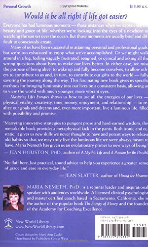 Mastering Life S Energies Simple Steps To A Luminous Life