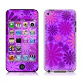 Apple iPod Touch 4th gen skin - Purple Punch - High quality precision engineered skin sticker wrap for the iPod Touch 4 / 4G (8gb / 16gb / 32gb / 64gb) launched in 2010 / 2011