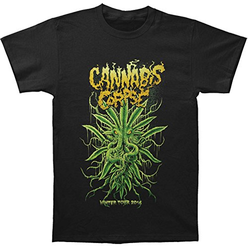 Cannabis-Corpse-Mens-Cthulhu-T-shirt-Black