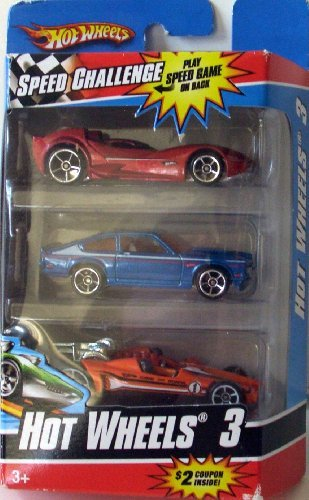 Hot Wheels 3 pack- Cars May Vary