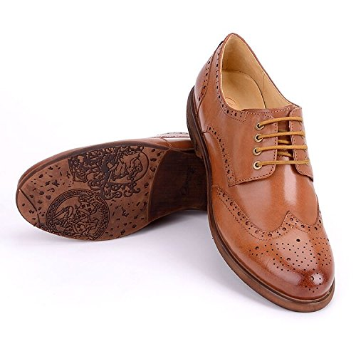 Women Oxford leather shoes E208 (10 B(M)US, A)