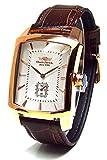 Charles Vogele シャルルホーゲル トノーレクタンギュラー スモールセコンド クラシカルライン CV90771 [並行輸入品]