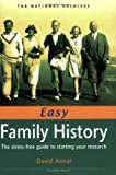 img - for Easy Family History: The Stress-Free Guide to Starting Your Research book / textbook / text book
