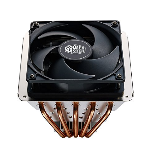 Cooler Master GeminII S524 Version 2 CPU Air Cooler with 5 Direct Contact Heat Pipes (RR-G5V2-20PK-R1) (Cooler Master Geminii M4 compare prices)