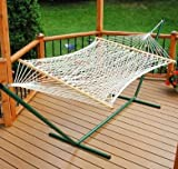 Single Polyester Rope Hammock 11 Foot