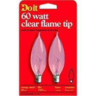 GE Private Label17789Do it Bent Tip Decorative Bulb-60W CLR BENT TIP BULB