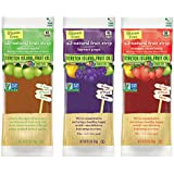 Stretch Island Fruit Co. All Natural Fruit Strips Variety (Autumn Apple, Summer Strawberry, Harvest Grape) Box of 30 - 0.5 Oz Pouches