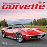 Corvette 2018 7 x 7 Inch Monthly Mini Wall Calendar, Chevrolet Motor Muscle Car