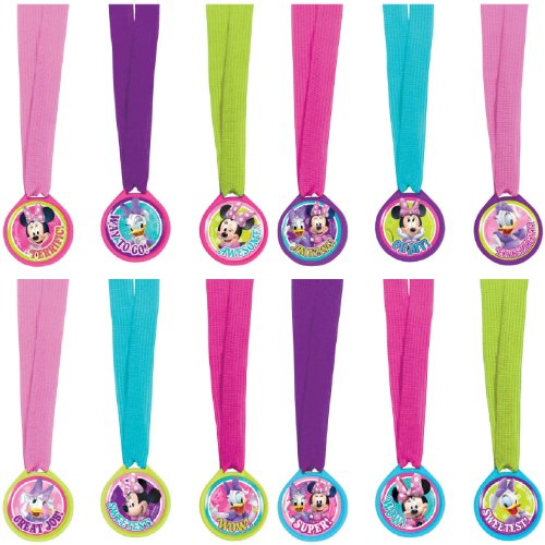 Disney's Minnie Mouse Award Medals-12 count