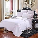 LEAFTELL 100% Natural Long Mulberry Silk Filled Comforter Silk Duvet (Twin XL, Summer)