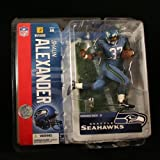 SHAUN ALEXANDER / SEATTLE SEAHAWKS * BLUE JERSEY * McFarlane 6 Inch NFL 2006 Series 14 Sports Picks Action Figure at Amazon.com