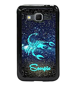 Fuson 2D Printed Sunsign Scorpio Designer back case cover for SAMSUNG GALAXY CORE PRIME G360H - D4465