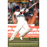 Sachin Tendulkar - Test Stats With Digital Signature(30.48 Cm X 45.72 Cm)