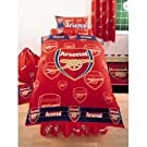 Official Arsenal FC Football Bedding Set Duvet Cover and Pillow Case