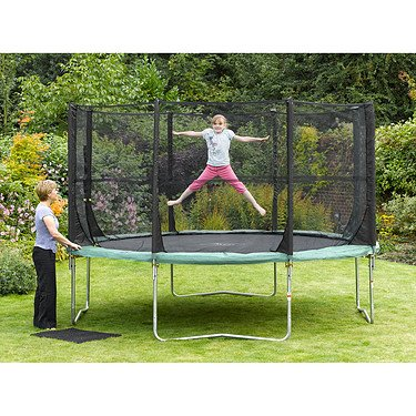 Plum® Space Zone 12ft Trampoline and 3G® Enclosure