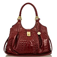Elisa Hobo Bag<br>Carmine Red Melbourne
