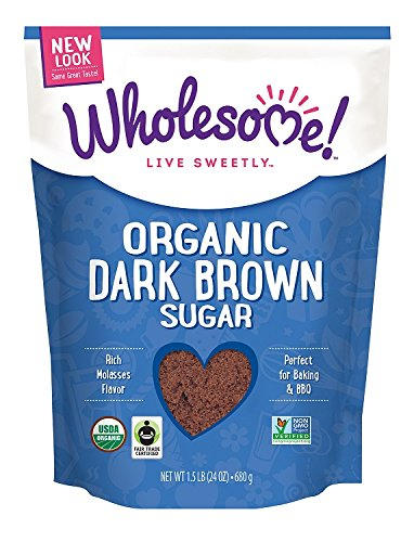 Wholesome-Sweeteners-Fair-Trade-Organic-Dark-Brown-Sugar-24-Ounce-Pouch