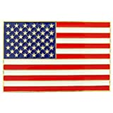 American Flag Car Grille Badge 2 1/2