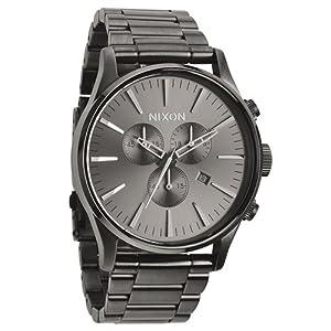 Reloj Nixon Sentry A386632 Hombre Negro