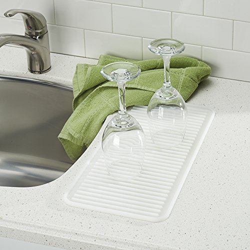 Countertop Dishwasher With Heated Dry : InterDesign Lineo Kitchen Countertop Silicone Sink Drying Mat - Small ...