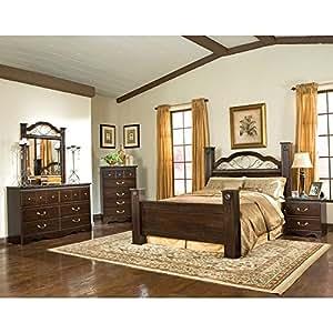 amazon com sorrento poster bedroom set queen amazon com alisdair bedroom set bedroom furniture sets