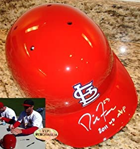 David Freese Hand Signed Autographed St. Louis Cardinals Full Size Authentic Helmet -... by Sports+Memorabilia