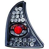 in.pro. 4413998 HD R�ckleuchten LED klar Renault Clio 98-01, schwarz
