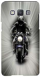 PRINTVISA Bike Case Cover for Samsung Galaxy E7 (Multicolour)