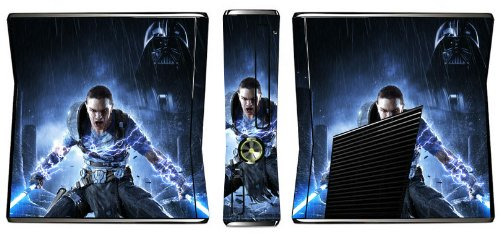 Star Wars Force Unleashed II 2 Game Skin for Xbox 360 Slim Console