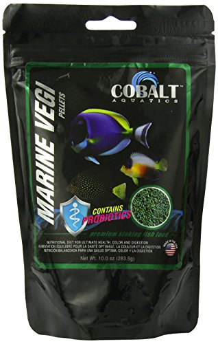 Cobalt Aquatics Marine Vegi Pellets, 10-Ounce (Vegi Salt compare prices)