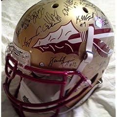 Florida State Seminoles 2013 14 Team Autographed Pro Line Helmet