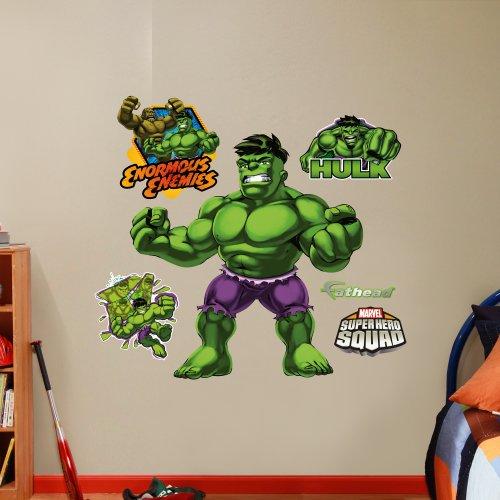 Fathead Hulk: Super Hero Squad Graphic Wall Décor