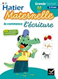 img - for Hatier Maternelle: Je Commence L'ecriture. Grande Section 5-6 Ans (French Edition) book / textbook / text book