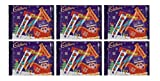 6 x Cadbury Christmas 5 Piece Treat Size Selection Pack Cadbury Chocolate