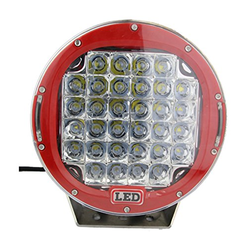 Suparee Pair New Car Work Lights 9'' 96W Cree Led Driving Spot Beam Work Lights 4Wd Offroad Camp Light Round