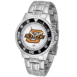 Oklahoma State Cowboys NCAA Competitor Mens Watch (Metal Band) by SunTime