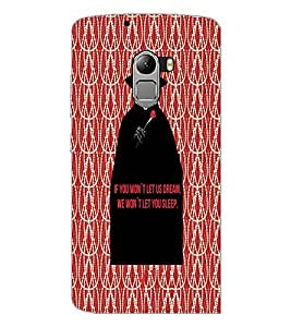 PrintDhaba Quote D-4734 Back Case Cover for LENOVO K4 NOTE A7010 (Multi-Coloured)