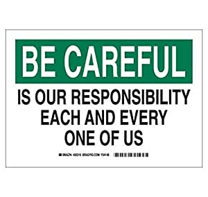 Amazon.com: Brady 88842, Safety Slogans Sign (Pack of 20 ...