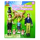 Ideal Decorator Family Figurines