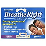 Breathe Right Nasal Strips Large Size 30 Stripsby Breathe Right