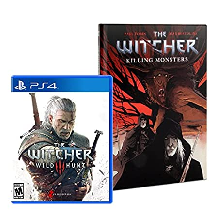 The Witcher: Wild Hunt (Comic Bundle) - PlayStation 4
