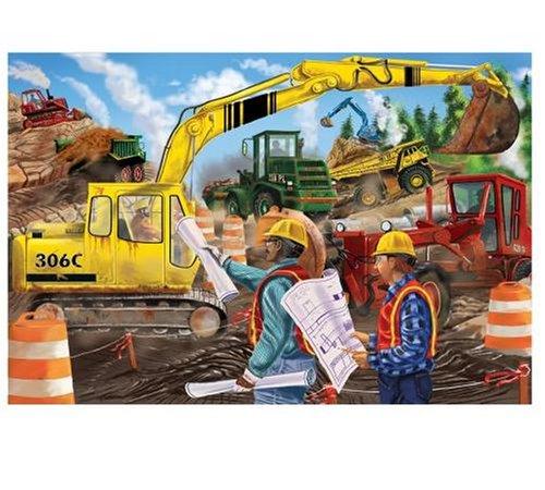Cheap Fun Melissa & Doug Construction 24pc Floor (B00004R8LW)