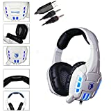FOME Sades SA-922 7.1 Surround Stereo Sound Effect USB Gaming Headset Headphone With Mic For Laptop PC PS3 PS4... - B01CYAGSZY