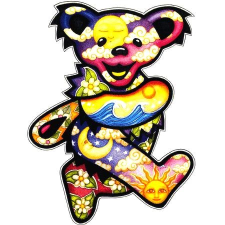 Dancing Bear Sticker by Dan Morris-Jumbo Window Decal - Buy Dancing Bear Sticker by Dan Morris-Jumbo Window Decal - Purchase Dancing Bear Sticker by Dan Morris-Jumbo Window Decal (cooolstuff4u, Toys & Games,Categories,Arts & Crafts,Stamps & Stickers)