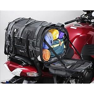 タナックス(TANAX)モトフィズ キャンピングシートバッグ2 /ブラック MFK-102[可変容量59-75ℓ]