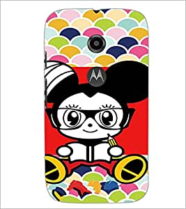 Printdhaba Cartoon D-3211 Back Case Cover For Motorola Moto E2