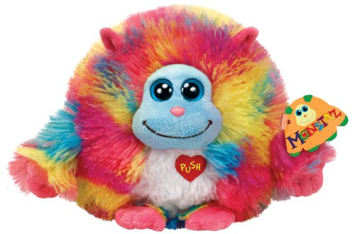 Ty Monstaz Willy Plush Toy, Rainbow