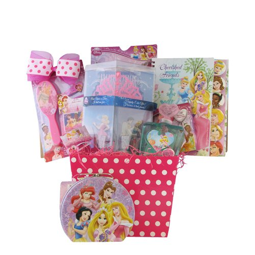 Disney Wedding Gift Basket : Gifts for Girls Disney Princess Accessory Gift Basket for Girls ...