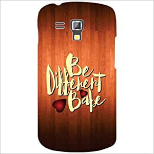 Printland Be Different Phone Cover For Samsung Galaxy S Duos 7582