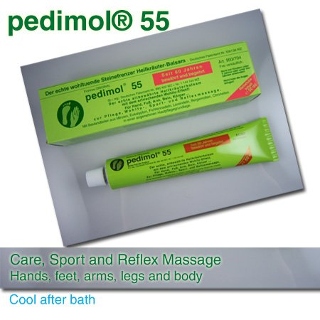 Pedimol 55 Care and Massage Cream Pain Relief - Joints and Muscle Pain